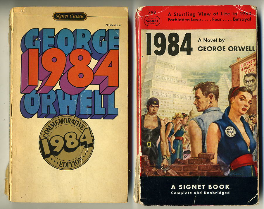 the three similar parties that run the world in george orwells novel 1984 George orwell's dystonic novel 1984, made me feel like the united states is not as free critical review of 1984 by george orwell 1984 by george orwell is a story of a man's i feel that george orwell accomplished his goal of telling how he viewed the world of the.