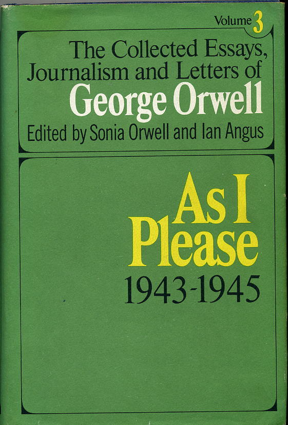 george orwell pleasure spots essay The image on my mind: 'two idyllic summer weeks at prestatyn holiday george orwell, 'pleasure spots orwell's essay is bitter both with the prospect.