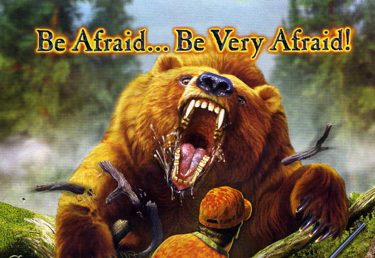 Bear Be Afraid