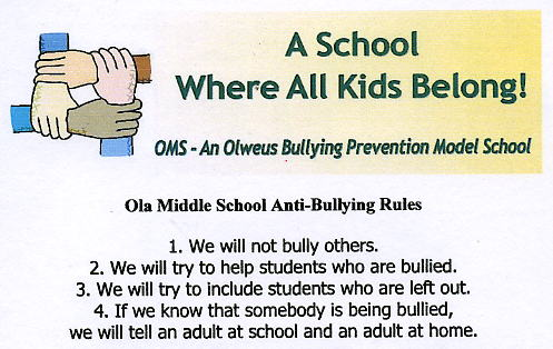 middle school anti bullying
