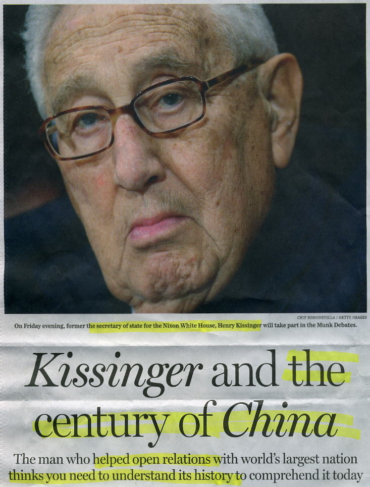 KissingerChinaCentury