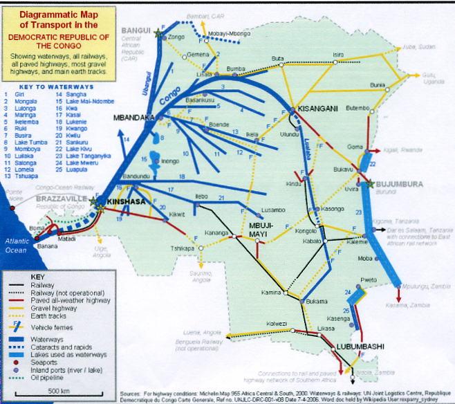 Reader Congo China Railroad
