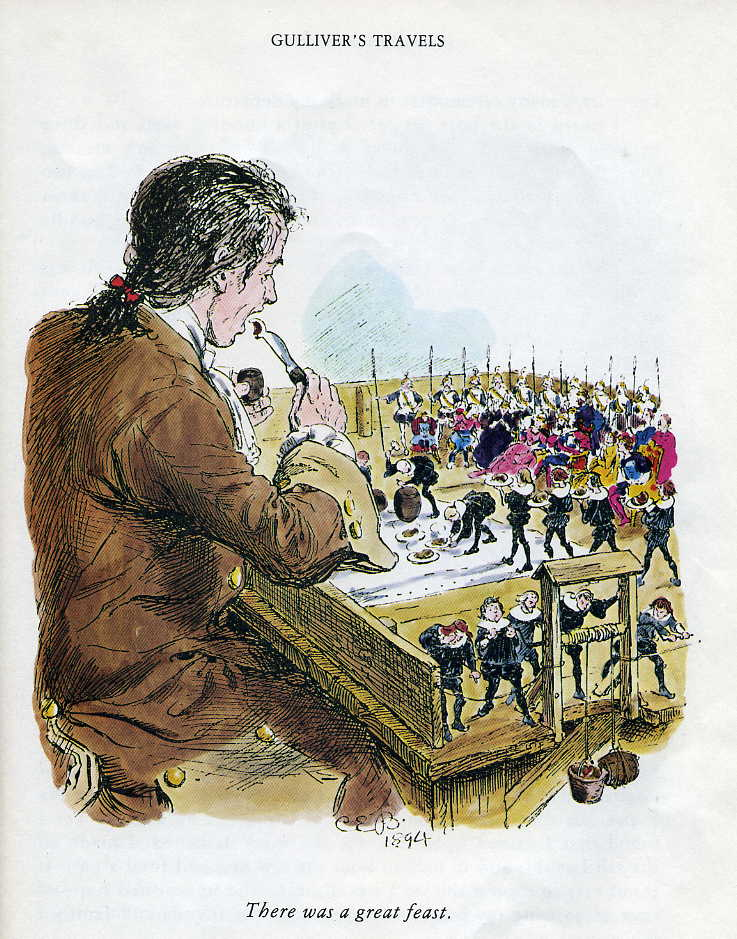 """gulliver travel comparison English essays: analysis of the enlightenment from jonathan swift's """"gulliver's travels."""