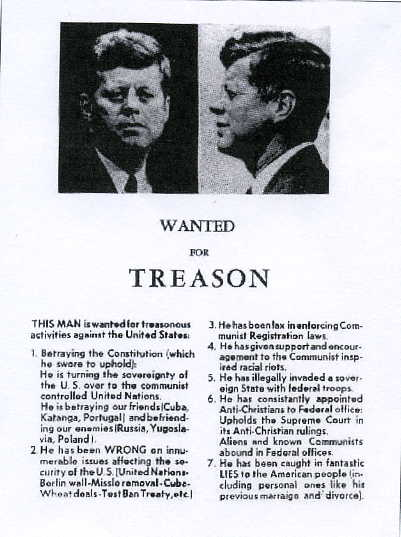 Dallas Treason Ad