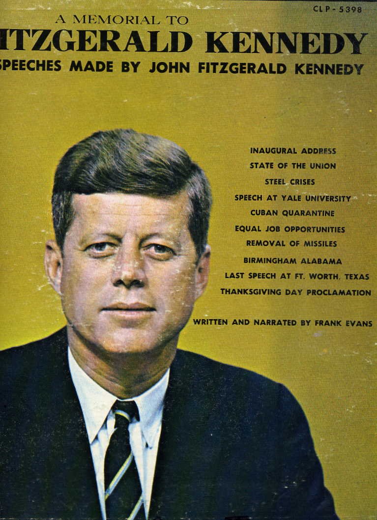 reader jfk afl cio album jfk labor speech record album