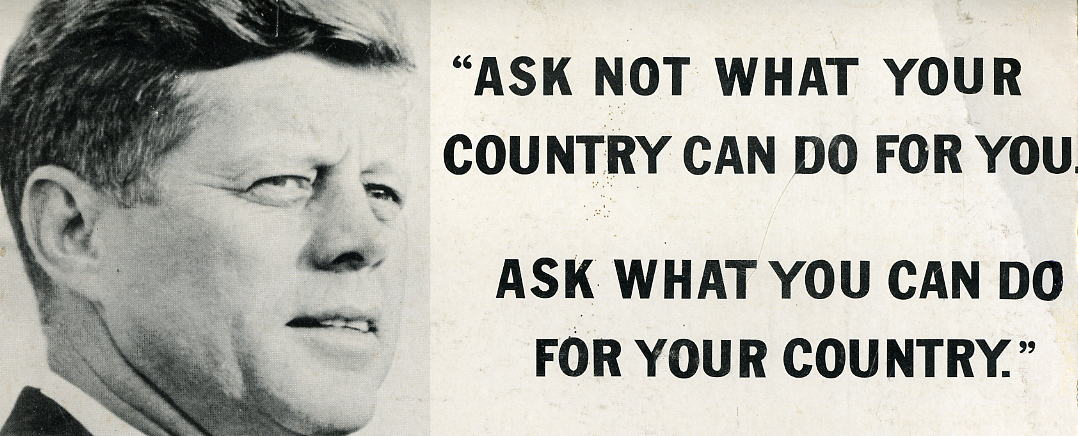 JFK stole his 'ask not what your country can do' speech from his old headmaster