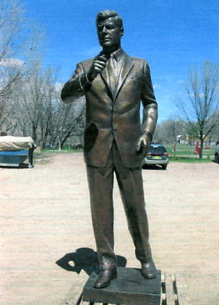 Image result for statue of JFK