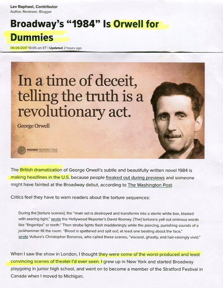 George Orwell in an undated image  His book            has achieved new  resonance  Credit Associated Press
