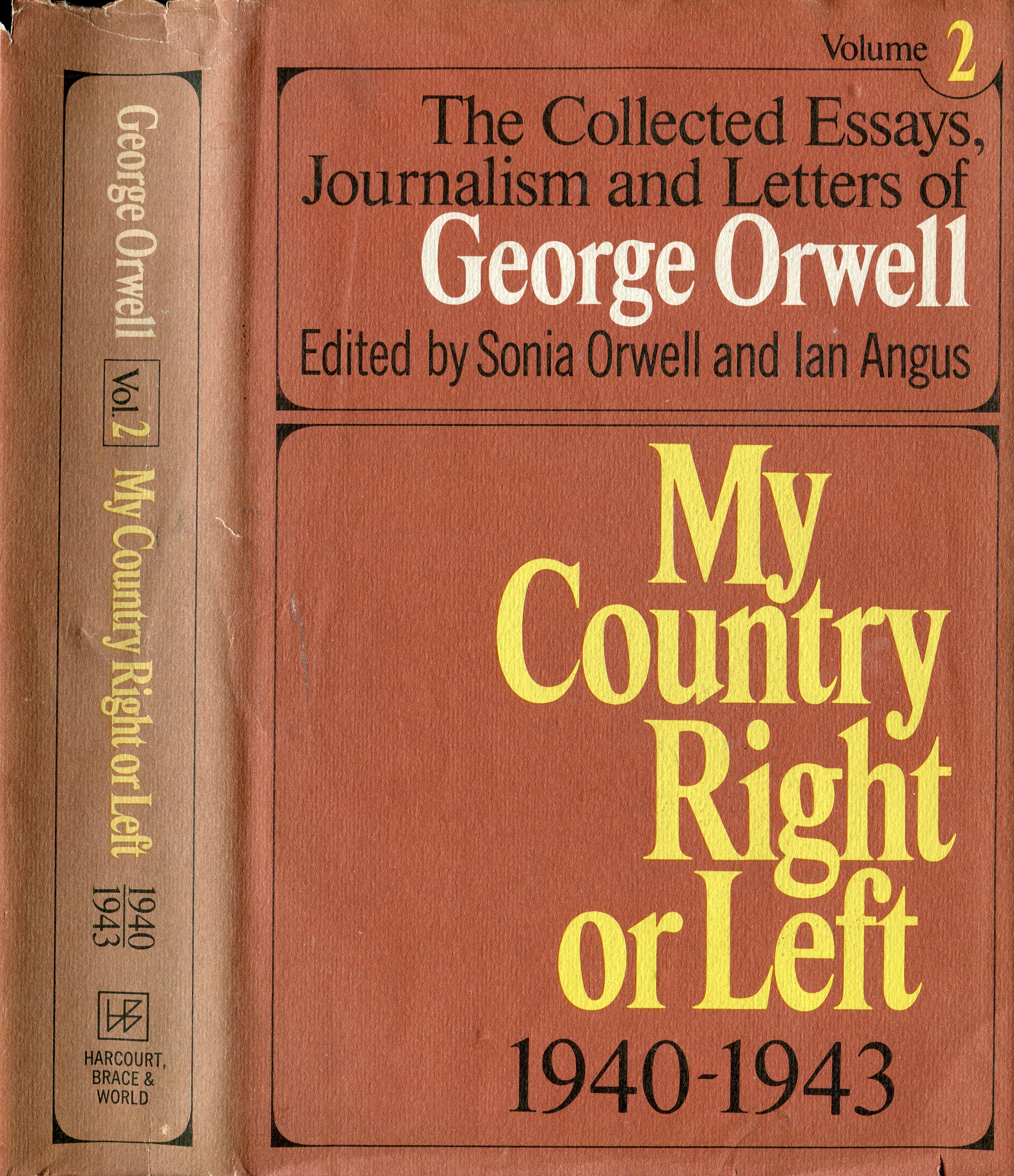 essays on george orwells