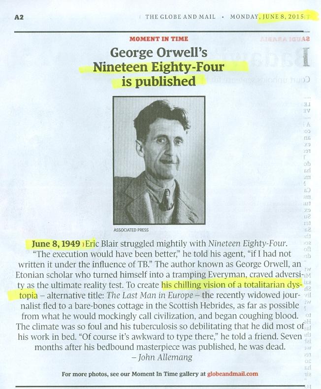 1984 comparison essay