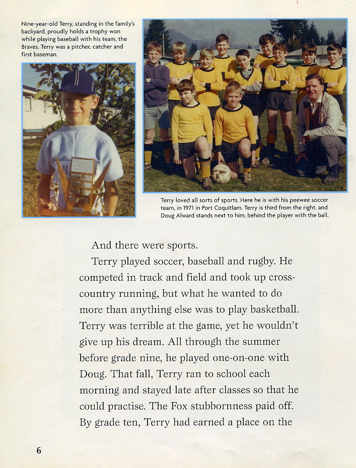 terry fox doug alward terry doug