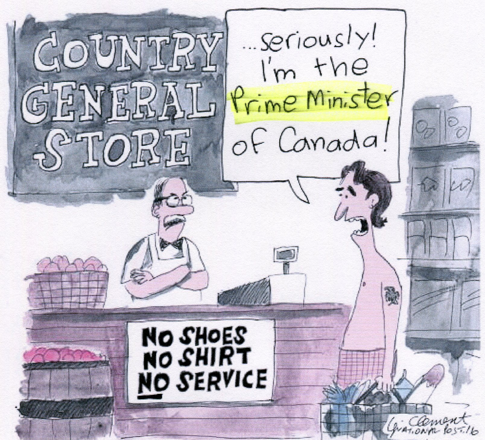 TrudeauShirtlesCartoon