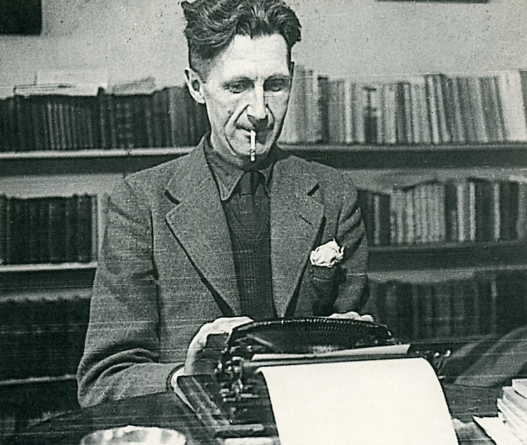 Orwell Typing/Smoking