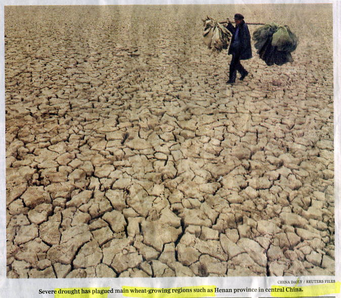 WaterDroughtChina