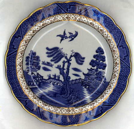 Blue Willow Dish