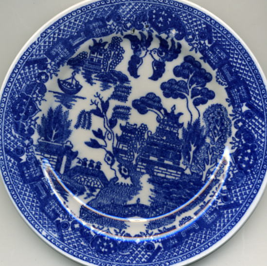 Blue Willow Japan & Old Willow Dishes