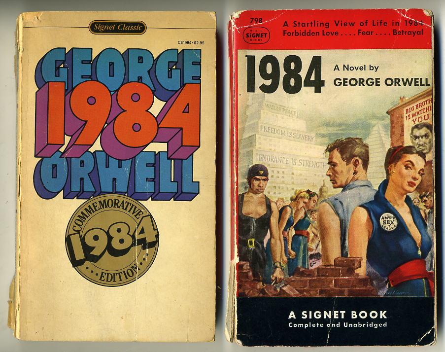 Risultati immagini per 1984 first edition