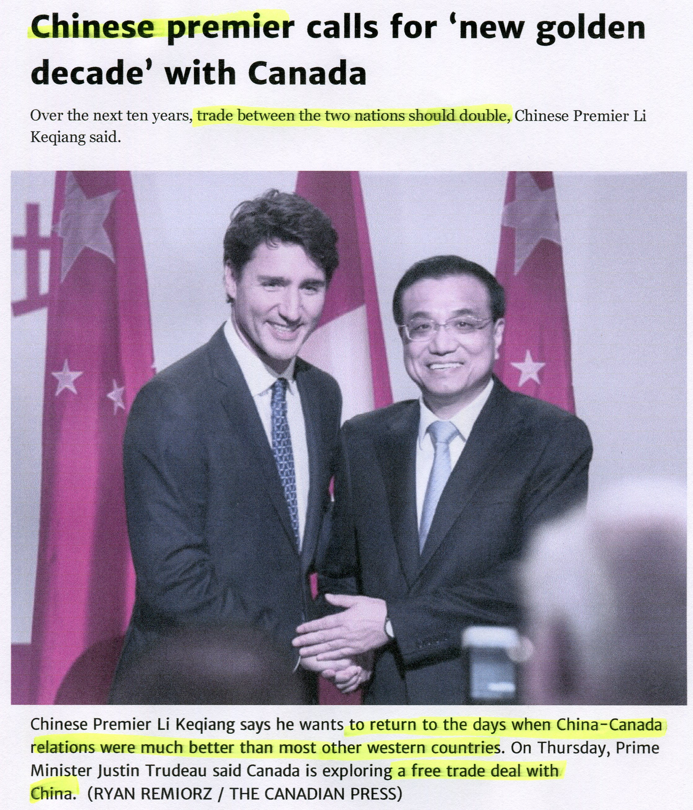 Image result for China's billionaires club in Canada CHINA TAKING CANADA