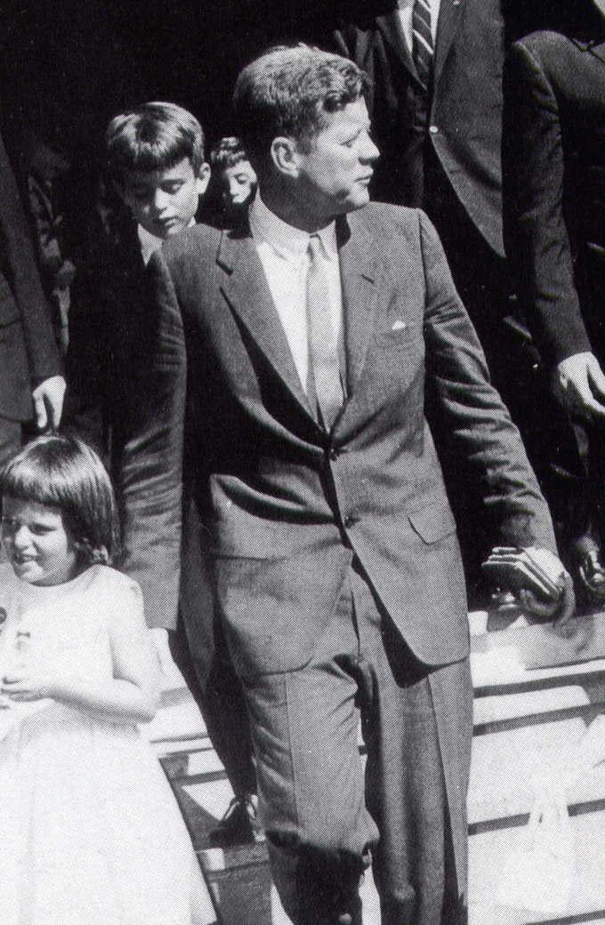 JFK Bible In Hand