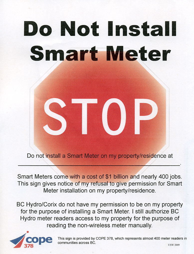 Reader Water Meter Refuse